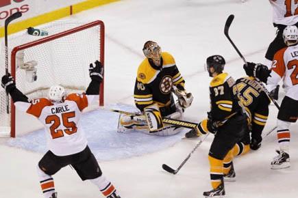 Pour la troisième fois de l'histoire, les Flyers de... (Photo Reuters)