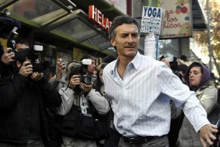 Mauricio Macri est l'un des possibles candidats de... (Photo Reuters)