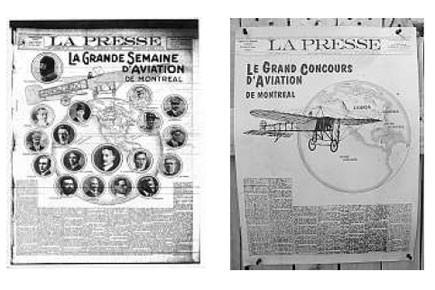 DÉCEMBRE 1903 (Photos: archives et David Boily, La Presse)