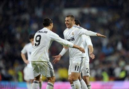 Malgré son alignement vedette, avec ses Ronaldo, Benzema... (Photo: Pierre-Philippe Marcou, AFP)
