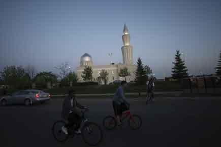 Persécutés au Pakistan, les membres... (Photo: Martin Chamberland, La Presse)