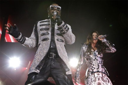 I Got a Feeling des Black Eyed Peas... (Photo: AP)