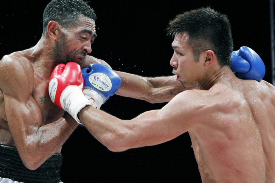 Takashi Uchiyama (à droite)... (Photo: AFP)