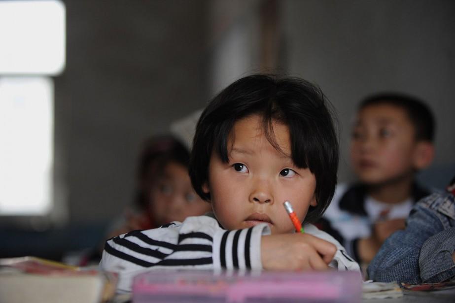 Des écoliers chinois ont été la cible de... (Photo: AFP)