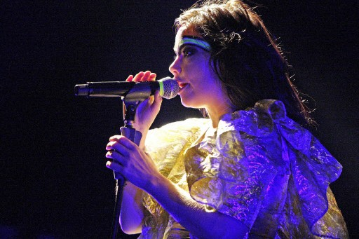 Björk... (Photo: AFP)
