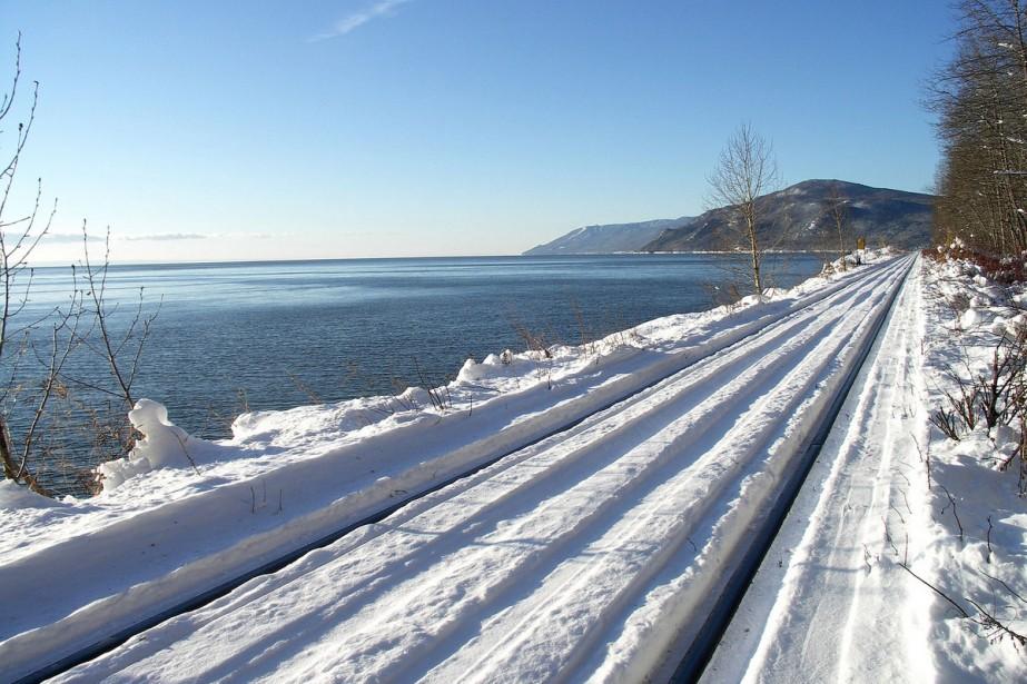 Le train touristique de Charlevoix proposera un panorama... (Photo: fournie par Le Massif Charlevoix)