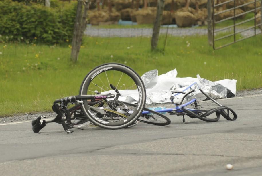 L'accident de Rougemont, qui a fait trois victimes,... (PHOTO JANICK MAROIS, ARCHIVES LA PRESSE)