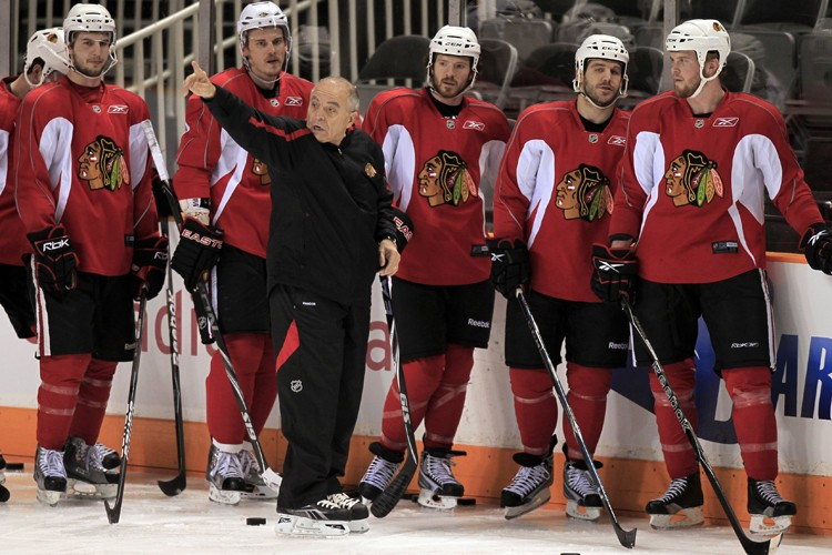Les Blackhawks auront moins de pression lors du... (Photo: Reuters)