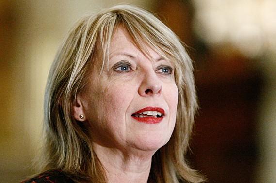 La ministre de la Condition féminine, Christine St-Pierre.... (Photothèque Le Soleil, Laetitia Deconinck)