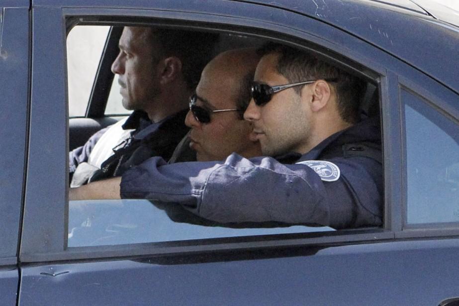 La libération d'Ali Vakili Rad (au centre de... (Photo: AFP)