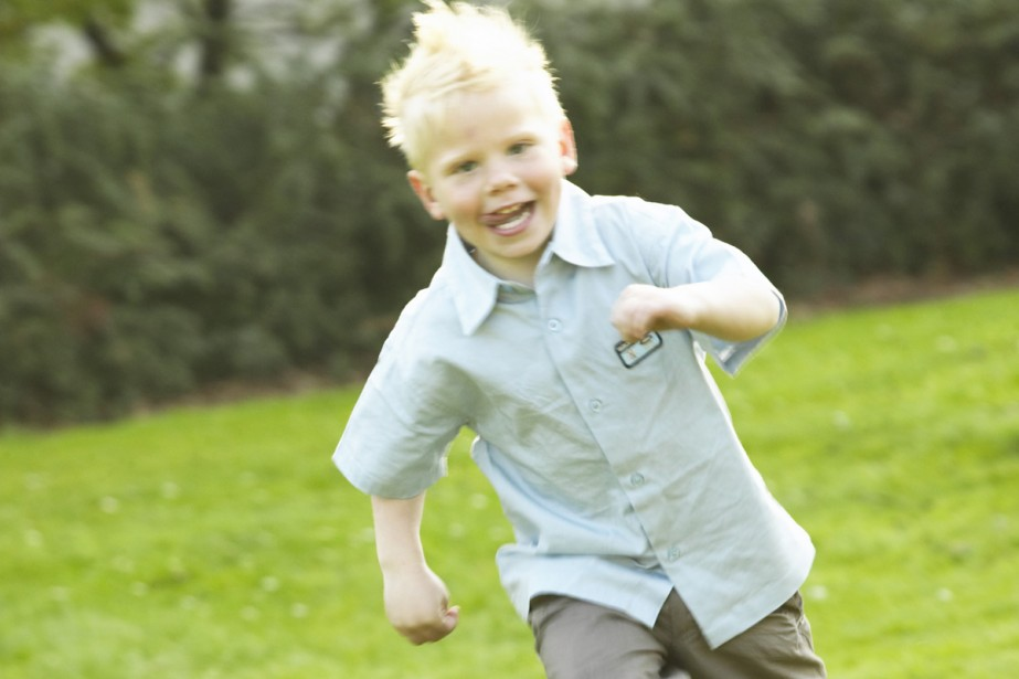 Les enfants exposés à des concentrations importantes de... (Photos.com)