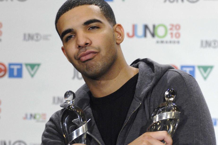Drake aux Juno en avril dernier.... (Photo: Reuters)