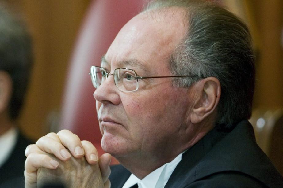 Le juge à la retraite Michel Bastarache... (Photo: PC)
