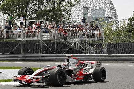Le Grand Prix de Montréal est dépourvu de... (Photo: Jacques Boissinot, archives PC)