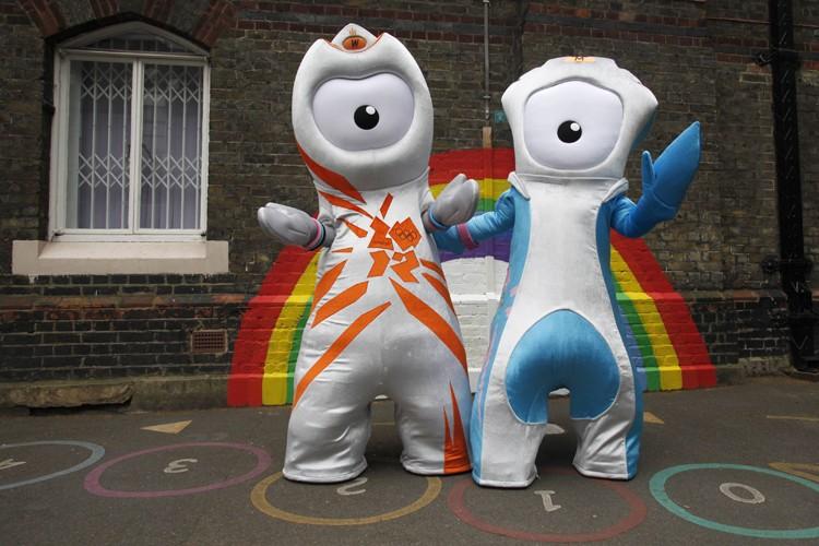 La mascotte des Jeux olympiques de Londres de... (Photo: Reuters)
