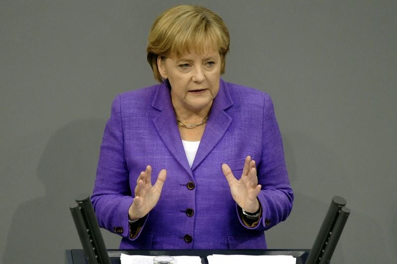 Le gouvernement de coalition dirigé par la chancelière... (Photo AFP)