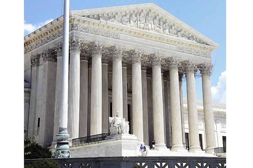 La Cour suprême des États-Unis, à Washington.... (Photo: AFP)