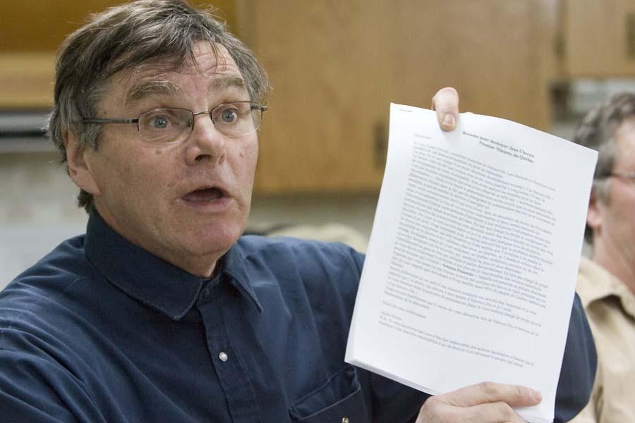 L'ex-conseiller municipal d'Hérouxville, André Drouin.... (Photo: André Pichette, Archives La Presse)