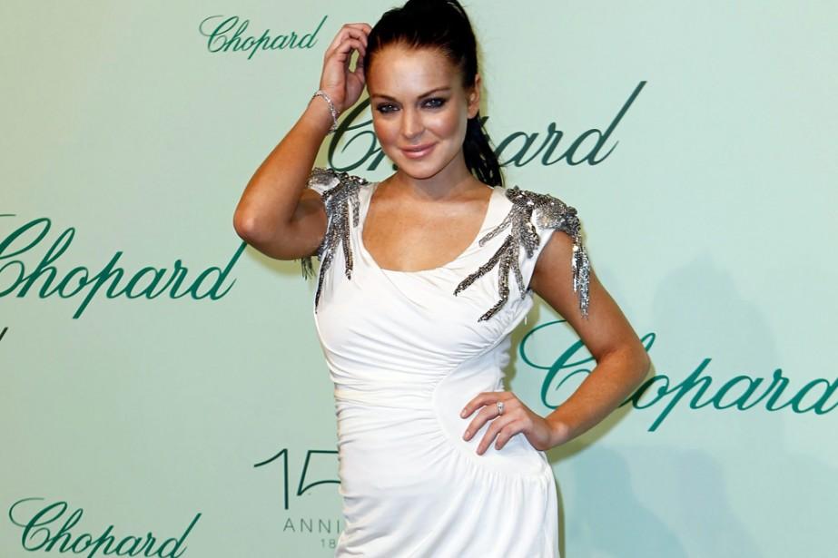 Lindsay Lohan était présente au 150e anniversaire de... (Photo: AP)