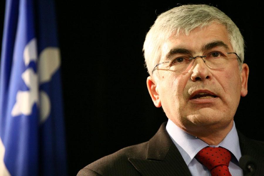 Le ministre du Développement économique, Clément Gignac, a... (Photo: Alain Dion, Archives La Voix de l'Est)