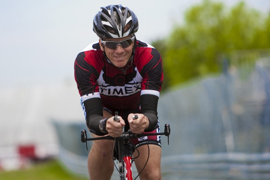 Laurent Proulx, triathlète accompli, a créé le Tour... (Photo: Martin Tremblay, La Presse)