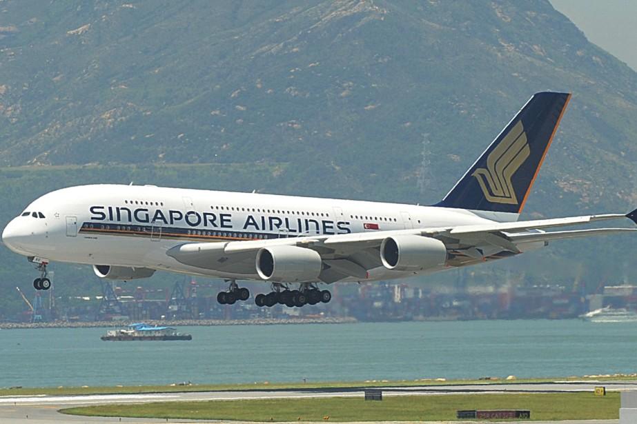 La compagnie Singapore Airlines est troisième au palmarès... (Photo: AFP)