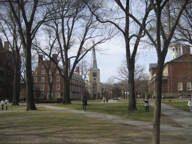 Le campus de l'Université Harvard.... (Photo: Philippe Orfali, collaboration spéciale)