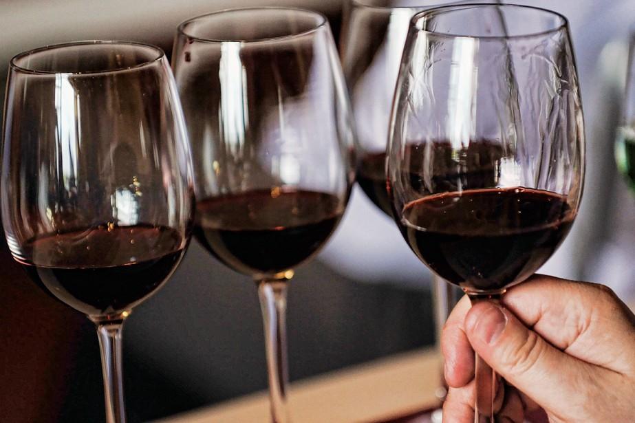 La mode des vins patapoufs, blancs et rouges,... (Photo: photothèque La Presse)