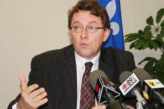 L'élu libéral Jean D'Amour a écopé d'une contravention... (Photothèque Le Soleil, Marc Larouche)