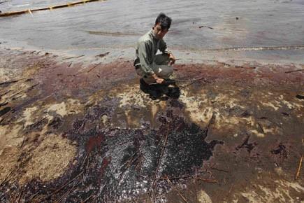 «La marée noire met en danger notre mode... (Photo AP)