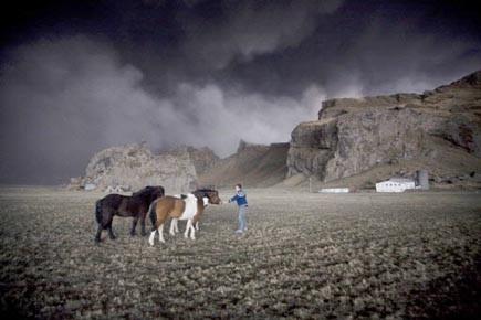 Certains agriculteurs ont dû se résigner à transporter... (Photo: Ingulfur Juluisson, Reuters)