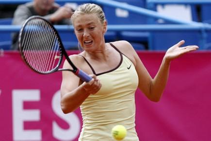 Maria Sharapova.... (Photo Reuters)