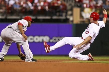 Le droitier des Cardinals Brad Penny a frappé un grand chelem... (Photo Reuters)