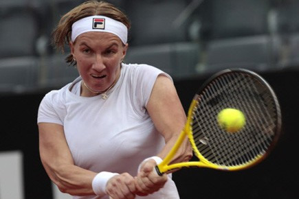 Svetlana Kuznetsova.... (Photo AP)