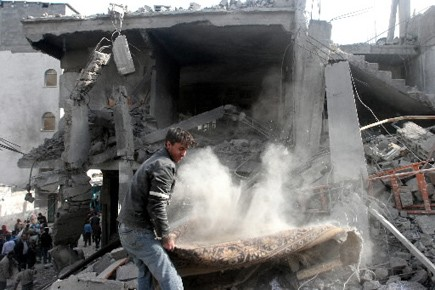 Israël maintient un strict blocus de Gaza -... (Photo: Bloomberg)
