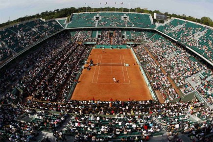 Superbe journée à Paris pour le début de Roland-Garros. La... (Photo: Reuters)