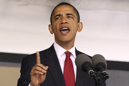 Barack Obama prévient que «le secteur financier n'abandonnera... (Photo Reuters)