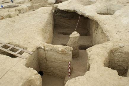 Les tombes ont été mises au jour à... (Photo: AP)