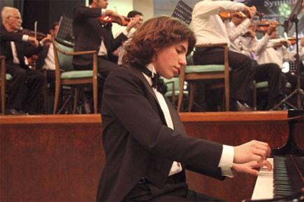 Un pianiste virtuose américain de 13 ans, originaire de Los... (Photo: AP)