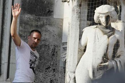 À travers la controverse, Ribéry a pu vérifier... (Photo: Wolfgang Rattay, Reuters)