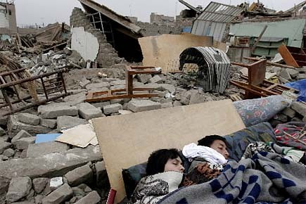 Le dernier séisme important au Pérou, de magnitude... (Photo: archives Reuters)