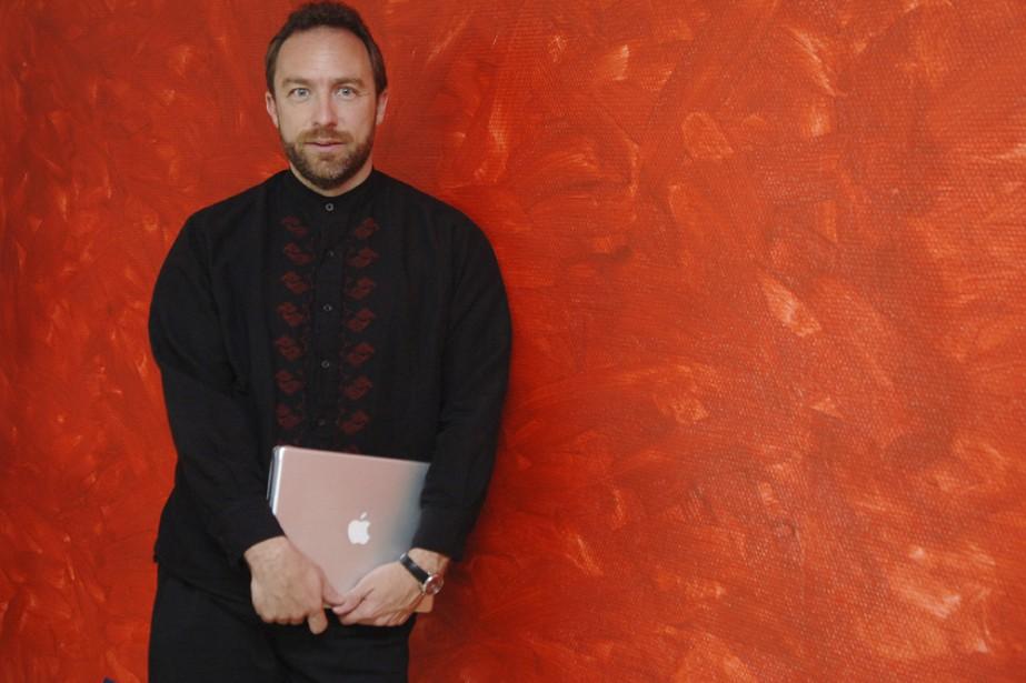 Le fondateur de Wikipédia, Jimmy Wales, donnera une... (Photo: archives AP)