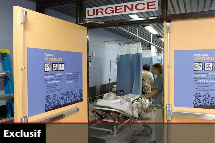 Globalement, la note pour l'ensemble des urgences du... (Photo: Alain Roberge, archives La Presse)