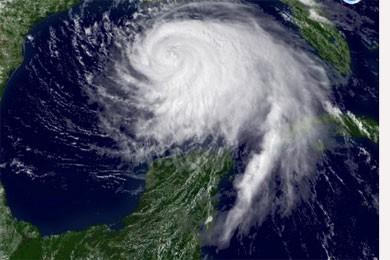 Un ouragan, appelé Darby, s'est formé jeudi dans le Pacifique au... (Photo: AP)