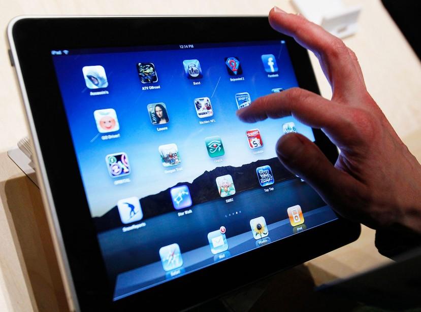 L'iPad d'Apple... (Photothèque La Presse)