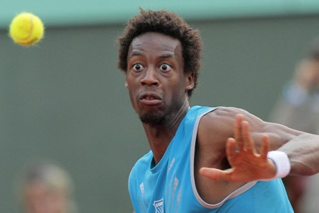 Gaël Monfils... (Photo: AFP)