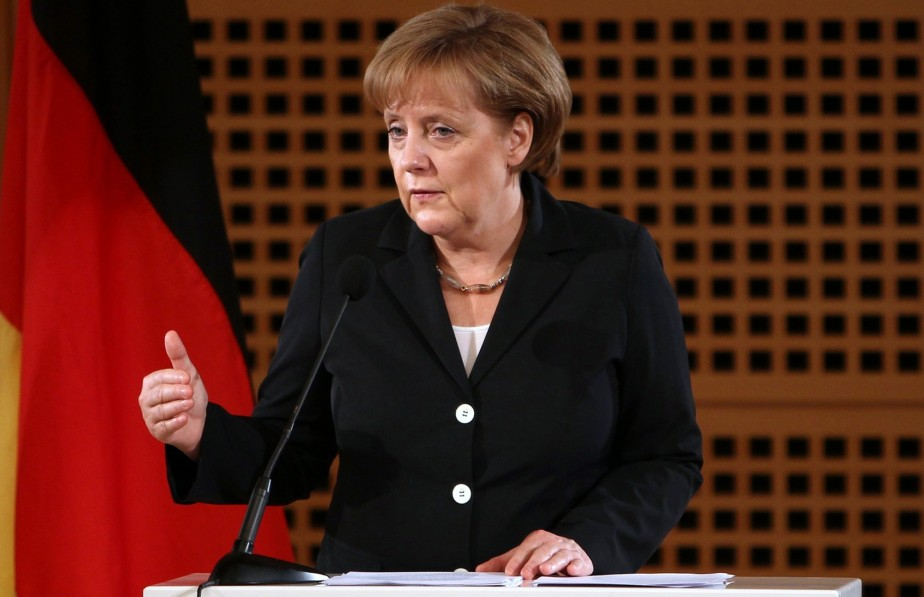 La chancelière allemande Angela Merkel.... (PHOTO: ASSOCIATED PRESS)