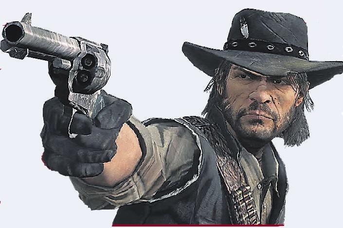 Le jeu vidéo signé Rockstar Games, Red Dead Redemption, a remporté  quatre...