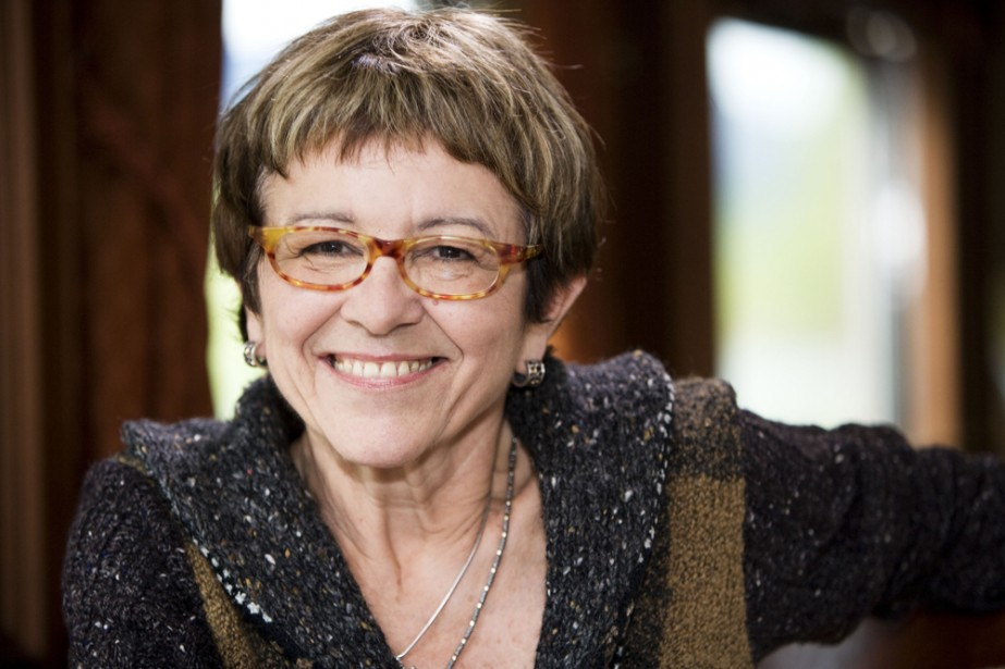 Chantal Jolis à On prend toujours un train... (Photo: Radio-Canada)
