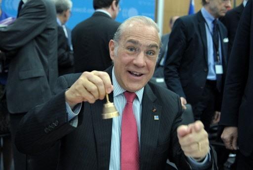 Le secrétaire général de l'Organisation de coopération et... (Photo AFP)